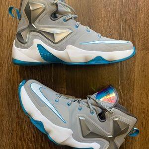 LaBron 13 Nike Blue Lagoon